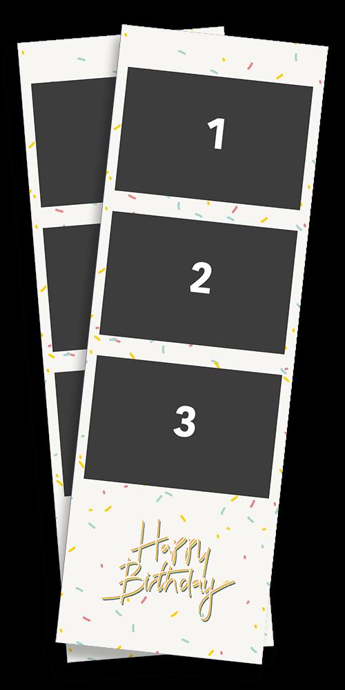Layout Beispiel Geburtstag Design