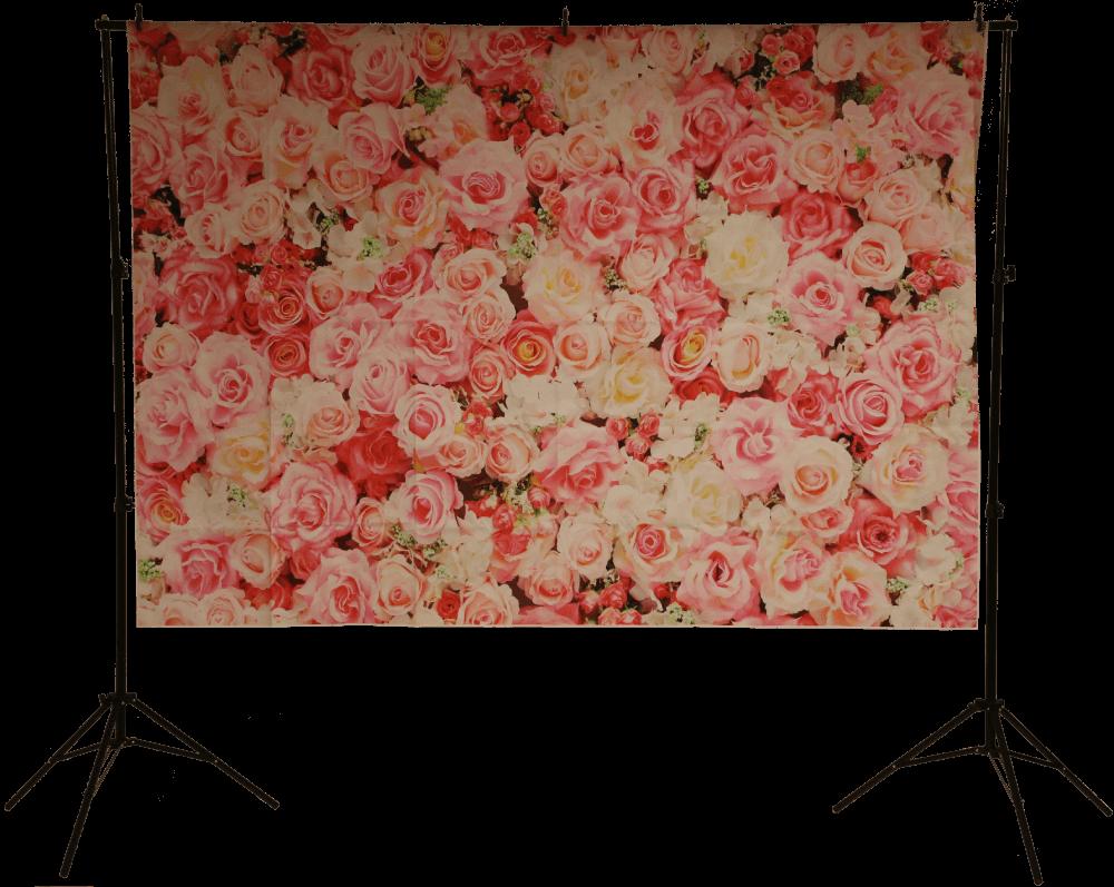 Die Blumenwand - perfekt für Hochzeiten!